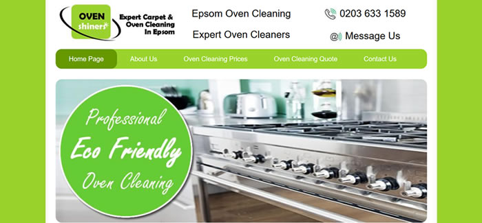 oven cleaning epsom