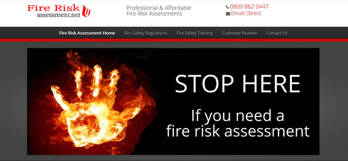 upgraded website for fire risk assessments manchester