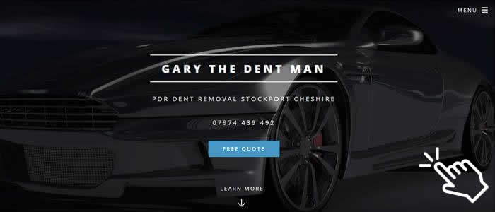 dent repair stockport