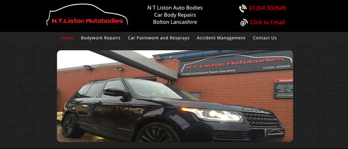 car body repair bolton