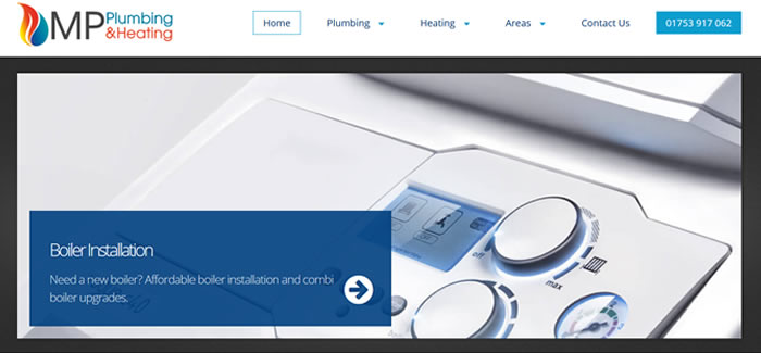 web design for Plumbers in Staines