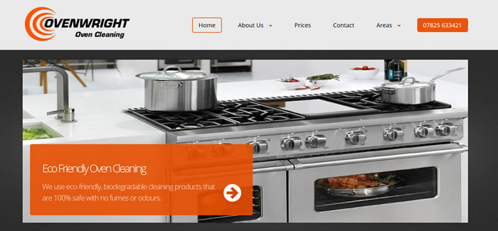 new website for Oven Cleaning Lancashire